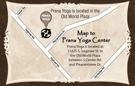 prana yoga grand blanc directions